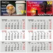 Kalendarze z magnesem na Lodówkę na 2018