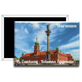 Pamiątkowe Magnesy z Warszawą