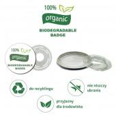 Przypinki Biodegradowalne