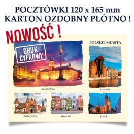 Pocztówki Karty Pocztowe 120x165mm