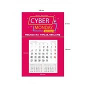 Kalendarze z magnesem na Lodówkę MAKRO