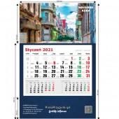 Kalendarze Jednodzielne ścienne