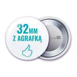 Przypinki 32 mm