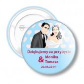Kotyliony Ślubne dla Młodej Pary nr 44