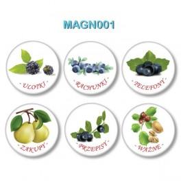 Magnesy na lodówkę - Przypominajki
