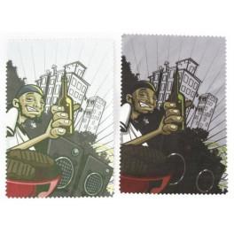 Ściereczki do okularów 2 szt.  Poster. 10x15