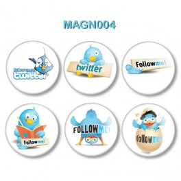 Magnesy na lodówkę - Follow Me