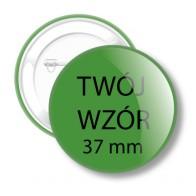 Przypinki na zamówienie 37 mm