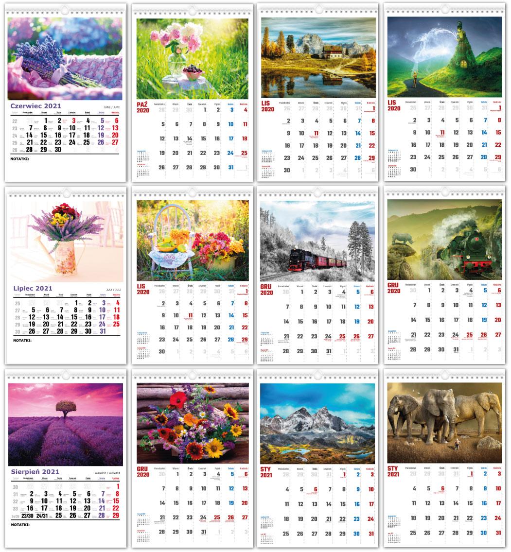 Fotoksiązki i kalendarze