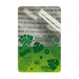 Lupa Magnifying Card
