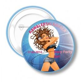 Przypinki na Kawalerski Sexy Party Girl III
