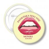 Przypinki na Wieczór Sexy Lips III