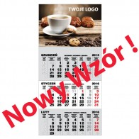Kalendarze Magnetyczne na 2022 r. 3 mies.